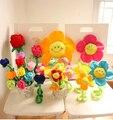 Juguetes de peluche venta al por mayor encantadora coreana flores, el sol flores color de rosa, flores y regalos creativos, regalos de boda