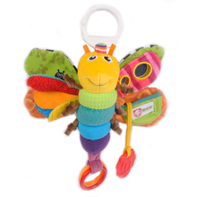 KUDIAN BEAR Musical Baby Stroller Toy Mobility Crib Mobiles Rattles Kids Toys Newborns Plush Baby Toys 0-12 Months BYC007 PT49