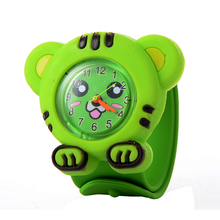 Fashion 3D Quartz Children Toy watch Cartoon Watches rubber Strap Wristwatches For girl boy Sport Clocks