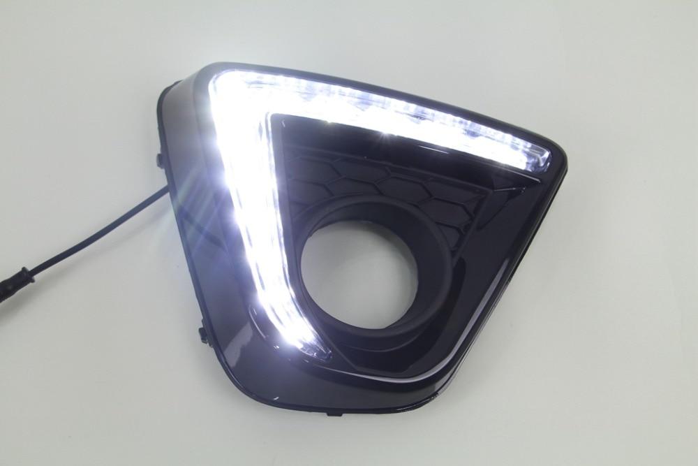 New arrival led drl daytime running light for mazda cx-5 2012-16, top quality, fast shipping, waterproof, black version sennheiser cx 5 00g black