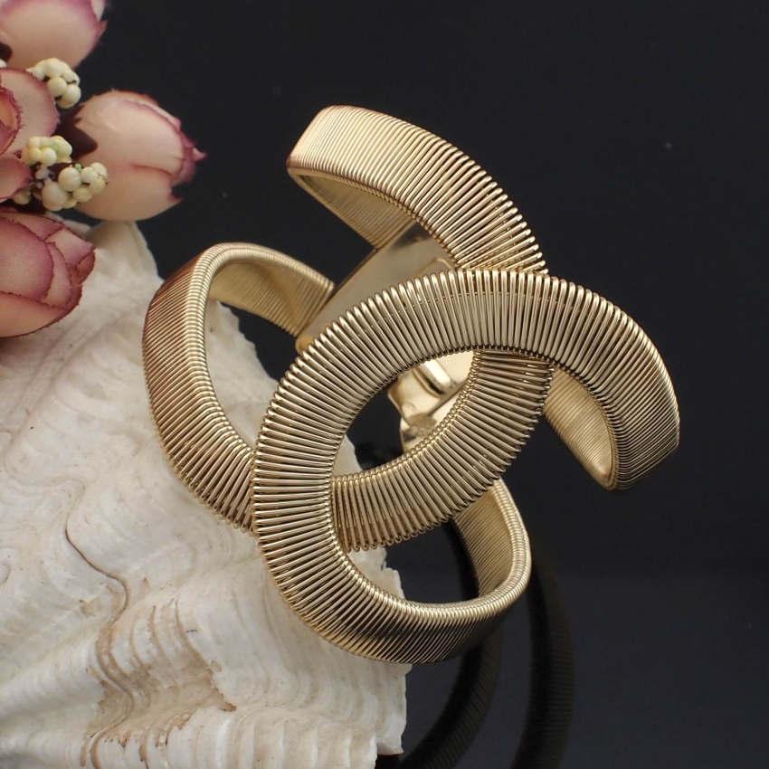 UKEN créateur de mode bijoux élégant alliage large printemps poignet Bracelet bracelets déclaration bijoux mode Bracelet pour les femmes grand