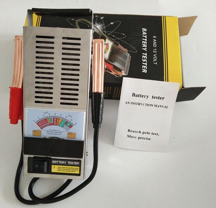Prix pour Précis Type De Charge De Batterie 6 V et 12 V Mécanique 6 12 Volts De Voiture Camion batterie testeur