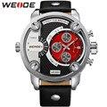 Novo popular moda casual relógio de luxo homens relógios dos homens relógio de quartzo relojes relógio militar do exército vogue pulso 2016 weide