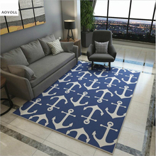 AOVOLL Mediterranean Style Soft Carpets For Living Room Carpet Kids The Modern Floor Mats