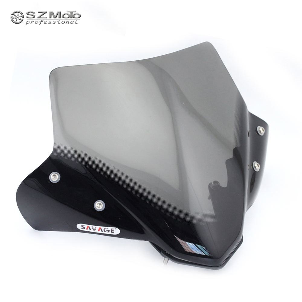 windshield windscreen for yamaha mt 07 mt07 mt 07 fz 07. Black Bedroom Furniture Sets. Home Design Ideas