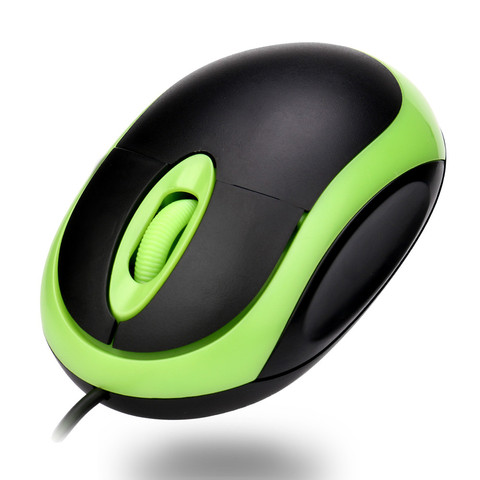 Wired Mouse Computer Mouse 3 Button Easy use USB 3D lightning Optical Wire Mouse Mice For Computer PC Laptop Notebook #1 Multan