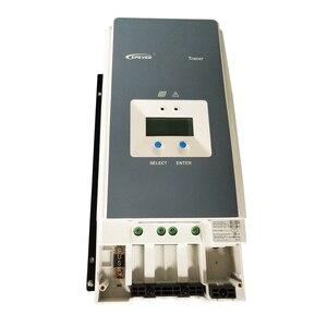Image 4 - EPever MPPT 100A الشمسية جهاز التحكم في الشحن 12 فولت 24 فولت 36 فولت 48 فولت الخلفية LCD ل ماكس 200 فولت PV المدخلات الوقت الحقيقي سجل 10415AN 10420AN