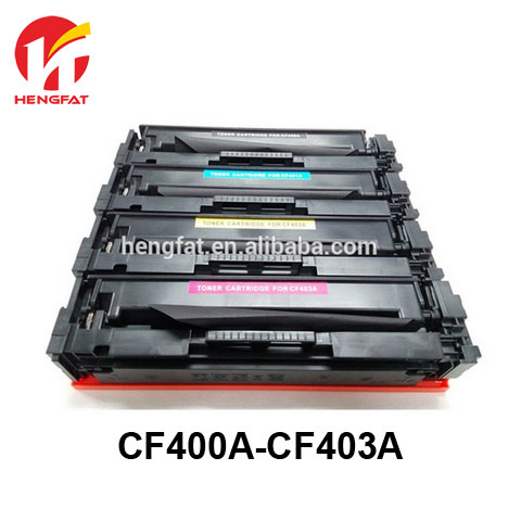 2PCS  for hp 201A CF400A 400a CF401A 401a CF402A 402a CF403A 403a Compatible toner cartridge for HP LASEJET M252dw/M277n/277dw toner reset chip for hp colour laserjet pro m252dw m252n mfp m277dw m277n printer cartridge 201a cf400a cf401a cf402a cf403a
