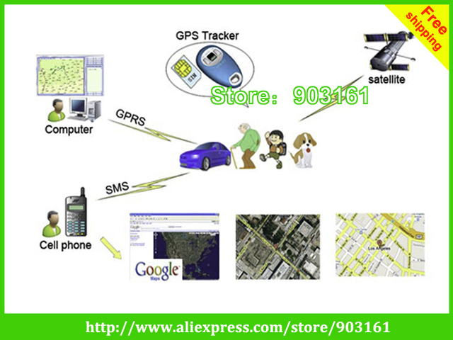 DHL Free Shipping  Personal gps tracker with 2 ways talking, Overspeed Alert and SOS Button Functions (PT203)