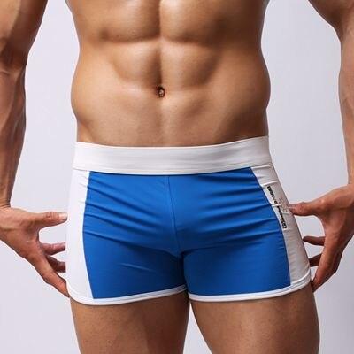 a8fdfcb0c8b2f Click here to Buy Now!! الراحة مثير ملابس السباحة رجالي سراويل للسباحة ...
