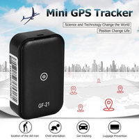 Mini Global Locator Real Time Car Kids Pets Tracker Tracking Device GPS Locator Finder Tracing Equipment Black
