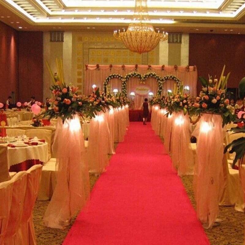 Wedding Carpet Party Banquet Decoration Nonwoven 85cmx5m