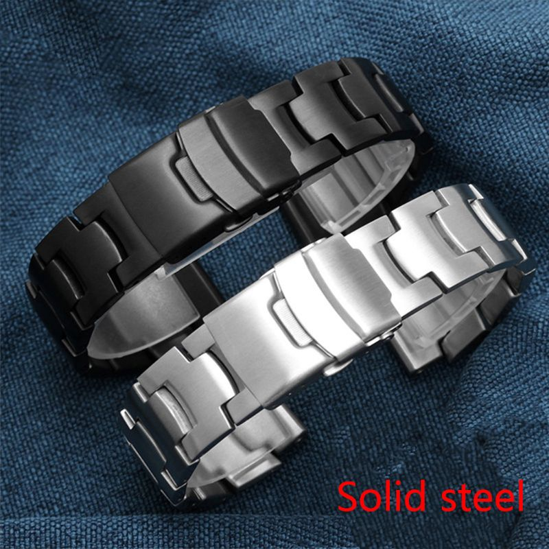 Stainless Steel Wristband Metal Strap Bracelet Replacement For CASIO PRG 260 550 250 500 PRW 3500 2500 5100 in Smart Accessories from Consumer Electronics