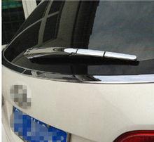 ABS Chrome Rear window wiper ajuste de la cubierta de Lluvia 4 unids Para Hyundai Santa Fe IX45 2013 2014