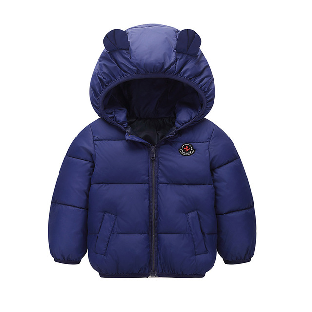 2018 New Kids Winter Outerwear Boys Girls Winter Warm Down Jacket  New Year's 1-5 Y Baby Children Hooded Coat Clothing Costumes