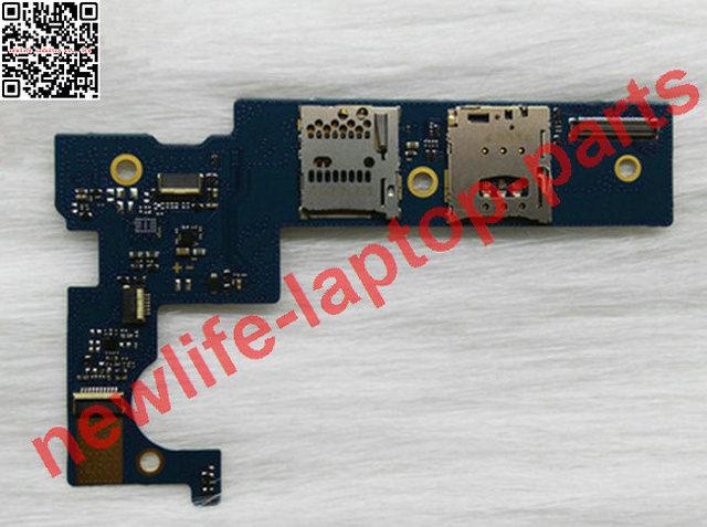 NUEVA original para B8080 3G Tarjeta Sim bandeja de la ranura del Zócalo del Sostenedor de la Bandeja de la Ranura de tarjeta de Memoria a Bordo bordo Bladefhd-SUB-H301