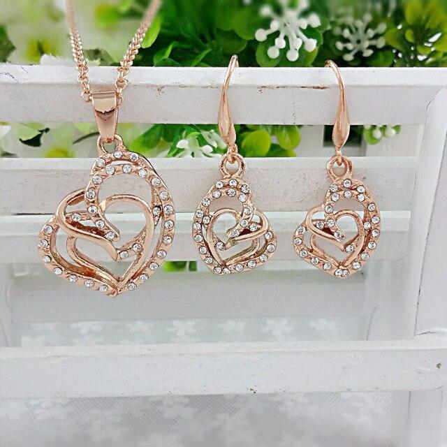 Jewelry Sets Women's Rose...