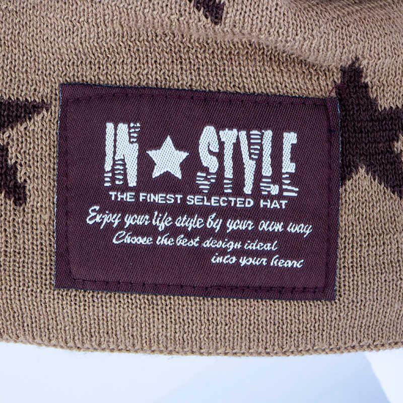 Gorro casual para hombre, gorro de invierno, sombreros para mujer, superguay, Calavera, Sombreros con patrones gráficos para hombres, gorros tejidos de lana, sombreros de invierno para hombres