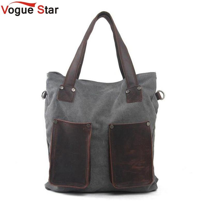 Vogue Star brand women handbag high quality canvas tote bag female large capacity handbags shoulder bags messenger bags LA332 цены онлайн