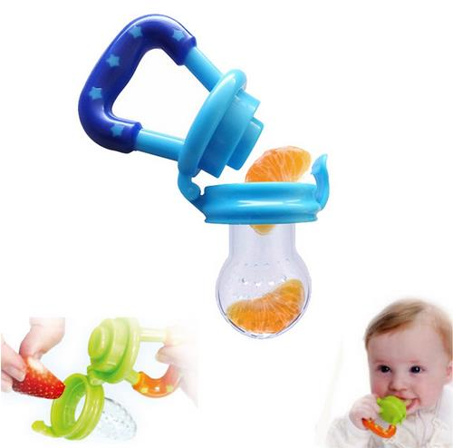 1Pcs Baby Pacifier Nipple Fruit Silicone Nibbler for baby feeding Safe Baby Supplies holder for Nipple Teat Pacifier Bottles