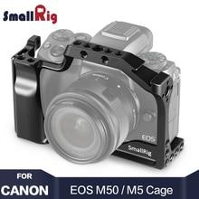 SmallRig M50 Camera Cage for Canon EOS / For M5 Vlog W/ Nato Rail Cold Shoe Mount video Vlogging 2168