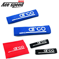 Ace скорость-Одна Пара НОВЫЙ Ремень безопасности Обложка Плеча Колодки Белого СПА цвет Красный, Синий, Черный