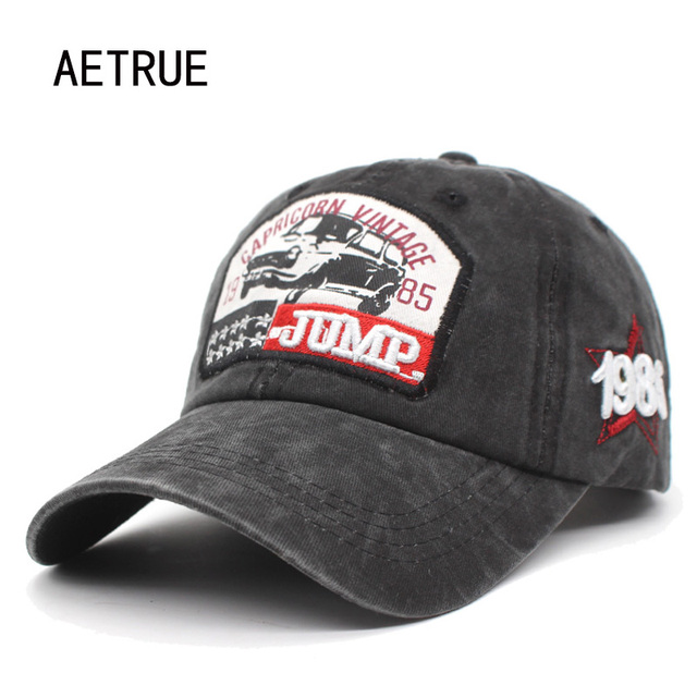 Aetrue moda gorra de béisbol hombres papá mujeres SnapBack casquette marca  bone sombreros para hombres camionero 81adadd2f16