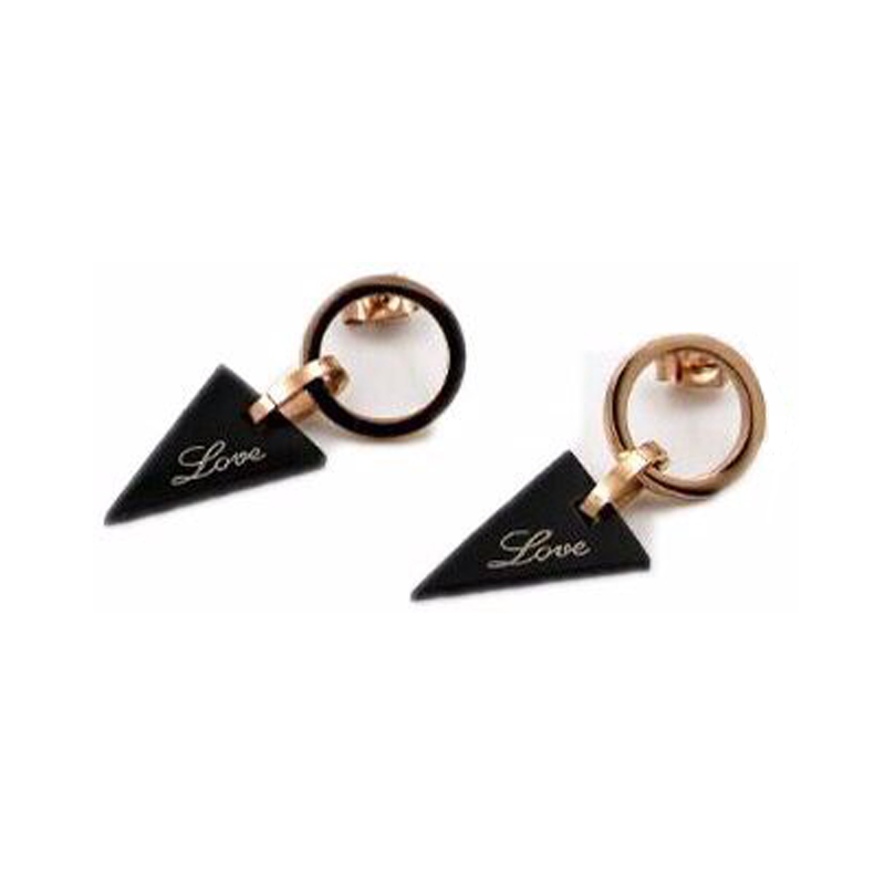 New fashion jewelry, gold color earrings, luxury lady with big ears ring wholesale jewelry for women