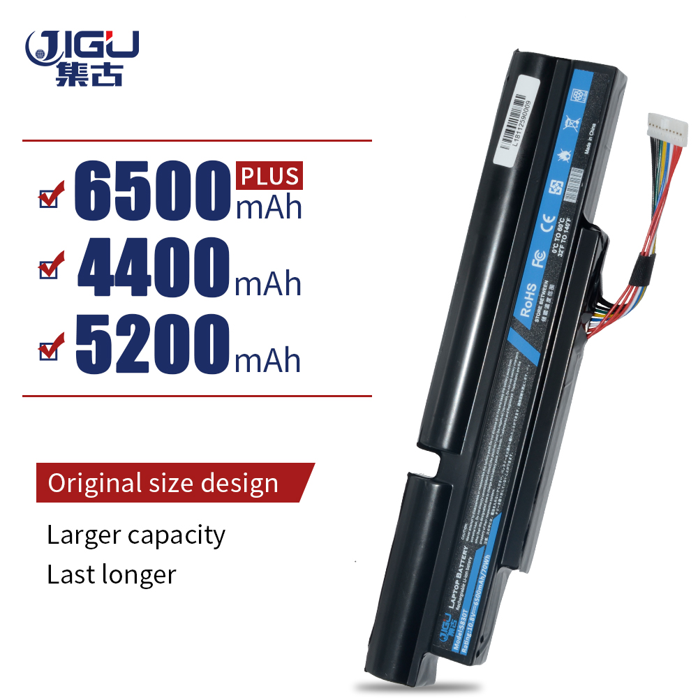 JIGU Laptop <font><b>Battery</b></font> For <font><b>Acer</b></font> <font><b>Aspire</b></font> TimelineX 3830T 4830T 5830T 3830TG 4830TG <font><b>5830TG</b></font> 3INR18/65-2 AS11A3E AS11A5E 6Cells image