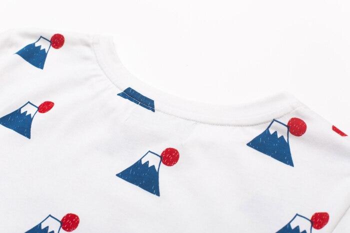 Aliexpress.com : Buy 2015 summer new fashion HALAJUKU JApanese wind Fuji Mountain pattern casual cute short sleeve women t shirt from Reliable women t-shirt ...