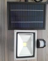 8 10 Вт led солнечной безопасности Открытый сад светодиодные Прожекторы Солнечная ПИР Средства ухода за кожей движения Сенсор лампы удара Ава