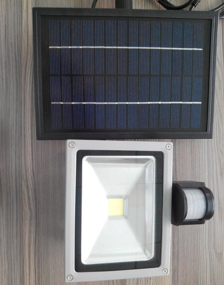 8-10w LED Solar Security Outdoor Garden LED Floodlights Solar PIR Body Motion Sensor Lamp COB Emergency Lights Spotlights