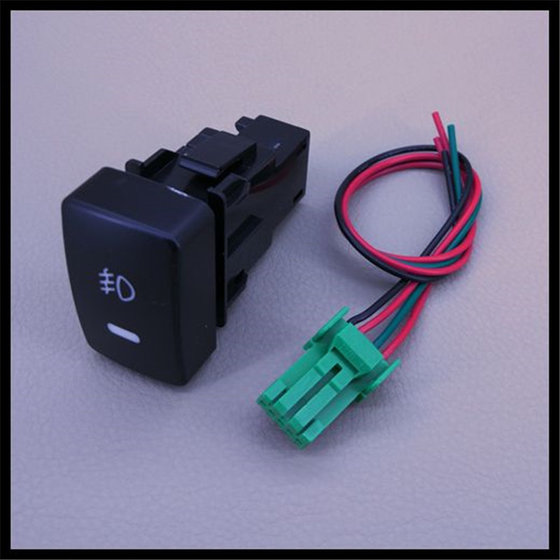 Jinghang 12v Car Accessories For Honda Accord  2004 2013  Front Fog Lights Switch With Wire