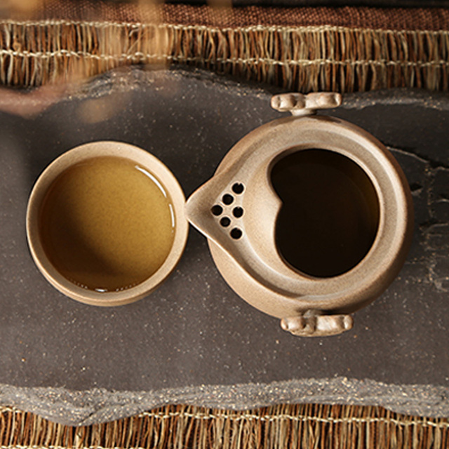 Chinese Kung Fu portable Tea Set for one