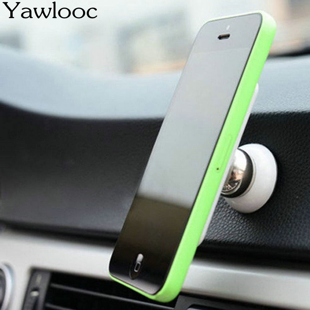 Yawlooc Car Styling 360 Degree Universal Car Phone Holder Magnetic Air Vent Mount Cell Phone Car