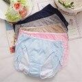 Женский физиологические трусики хлопок кружево пакет хип менструальный гигиены предотвратить утечку стороны нижнее белье среднего талии женские шорты