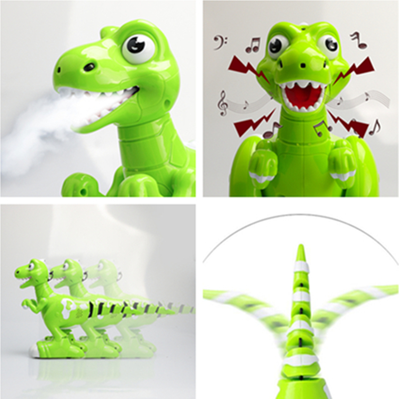 Image 4 - RC Dinosaur Robot Toys Gesture Sensor Interactive Remote Control Robotic Spary Dinosaur Smart Electronic Toys Radio Controlled-in RC Robots & Animals from Toys & Hobbies