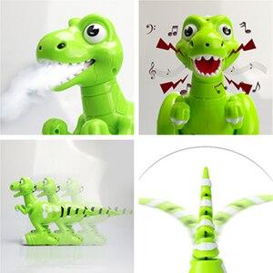 Image 4 - RC 恐竜ロボットおもちゃジェスチャーセンサーインタラクティブリモートコントロールロボット Spary 恐竜スマート電子玩具ラジオ制御