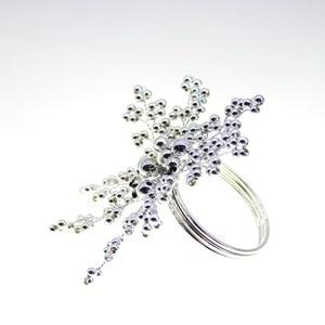 Image 5 - Trasporto libero della perla anello di tovagliolo perline napkin holder per la cerimonia nuziale molti colori 12 pz