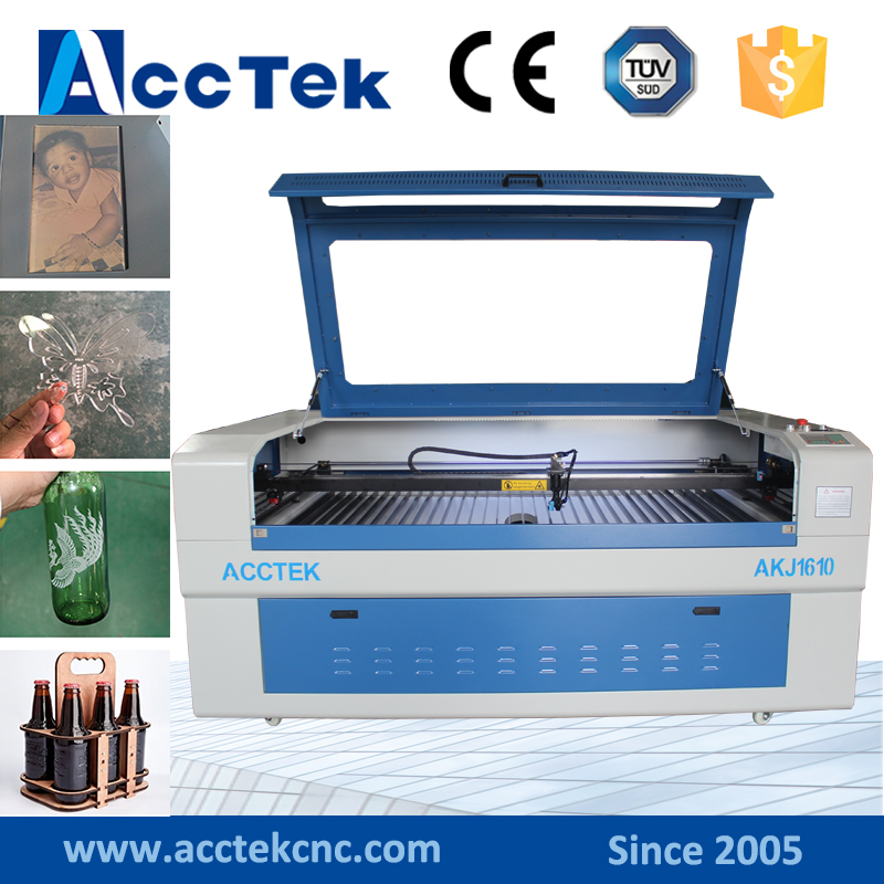 80w 100w cnc 1610 laser cutting machine acrylic co2 laser engraver