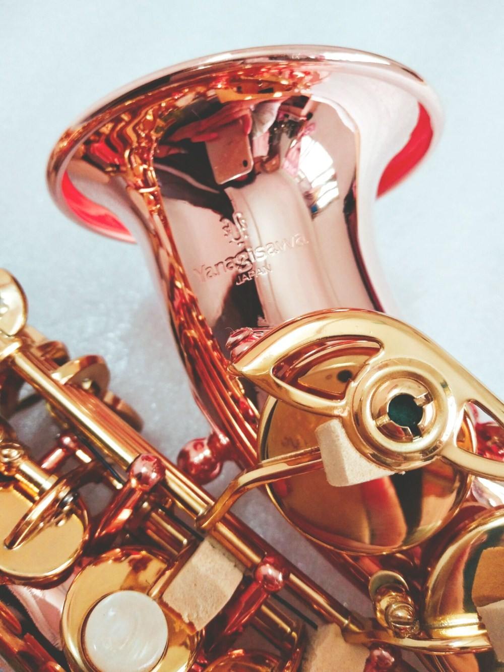 Nuovo Yanagisawa Sassofono Soprano Bb Fosforo Bronzo rame Sax SC-992 Yanagisawa Strumento Musicale Promozioni di Trasporto libero
