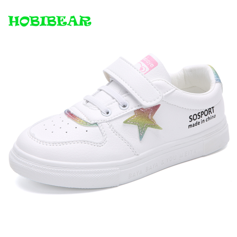 Casual Children Girls Shoes Comfortable Girls Platform Shoes Kids Wearable Kids Shoes Sneakers Black Blue School Shoes for Girls