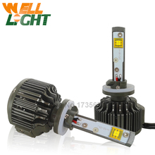 1pair Xenon White Led For Kia Car h27 881 880 LED 30W w/ CREE Chips high lumen Daytime driving fog light bulb lamp 12V