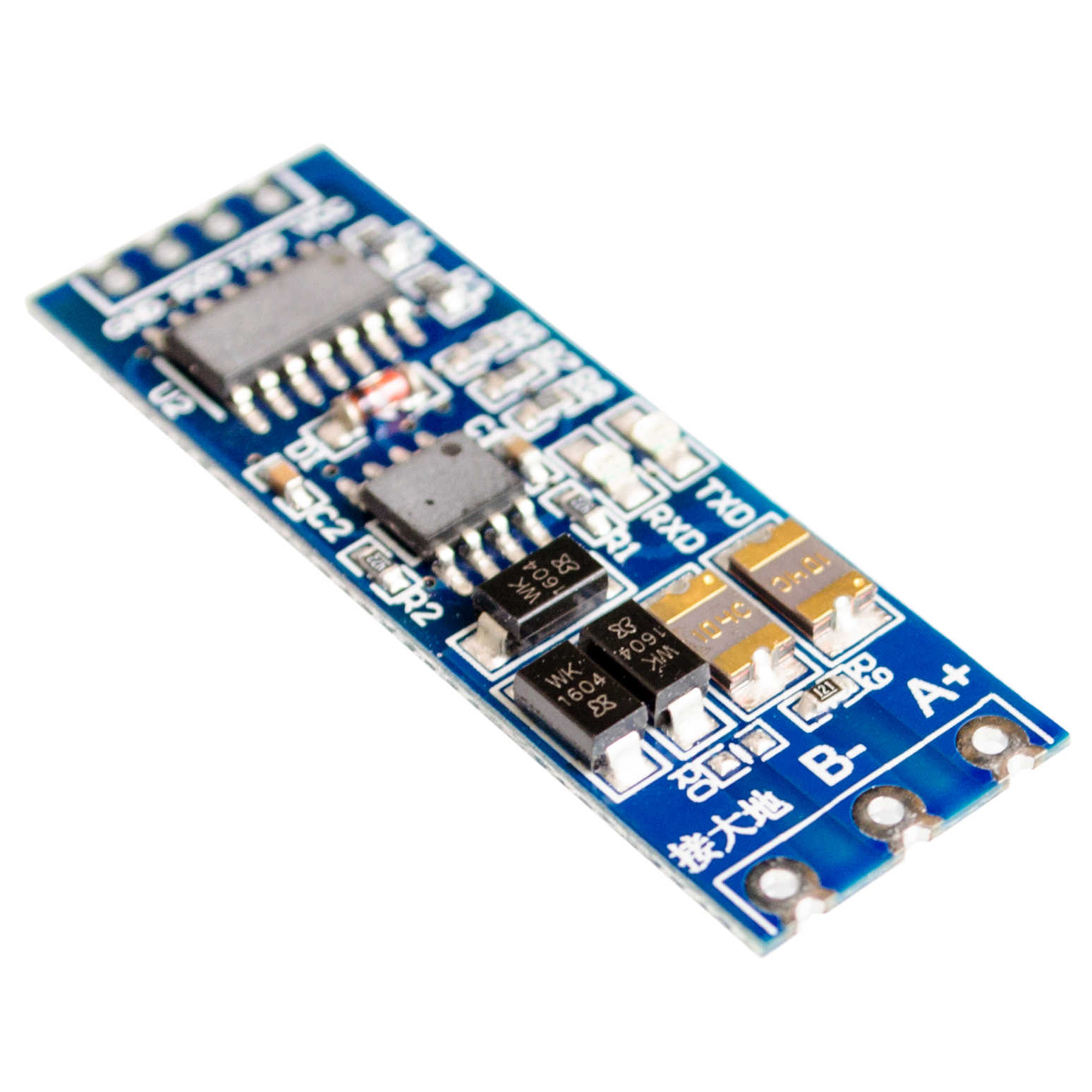 5PCS/LOT TTL turn RS485 module 485 to serial UART level mutual conversion hardware automatic flow control
