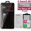 100 unids nuevo para goolge nexus 6 p protector de pantalla de cristal templado 0.3mm/2.5d/9 h