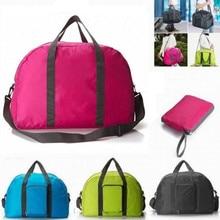 4 Colors New Fashion exercise WaterProof Travel Bag Large Capacity nylon Folding Bag Unisex Luggage Travel Handbag Free Shipping