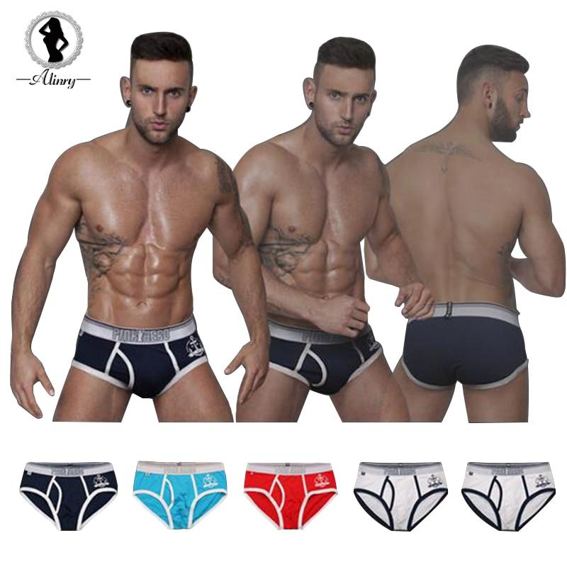 2017 new arrived 5 colors breathble underwear men Modal Sailor Printed M L XL XXL men boxers comfortable shorts men ST511