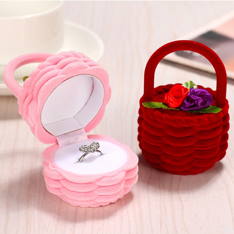 Mini Cute Rabbit Violin Basket Baby Car Jewllery Gift Boxes For Rings And Small Earrings Pendant Necklace New
