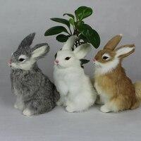 Kawaii חמוד בעלי החיים ארנב ארנב פסחא יום חג המולד מתנת יום הולדת לחברים בית החתונה קישוט קרפט ילדים צעצוע