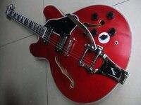 En gros New Jazz Guitare 1959 ES-335 ES355 guitare électrique pont bigsby dans ans rouge ES 355 110408
